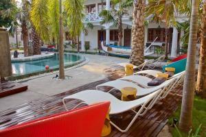 Piscine hotel à Padang Bai