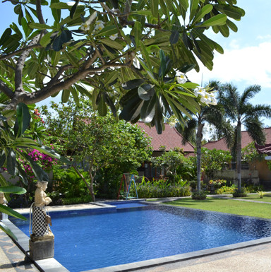 Piscine de l'Hôtel à Pemuteran, Bali.