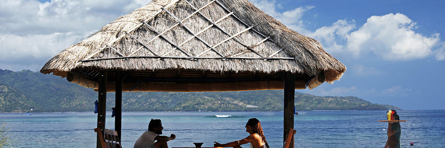 Gazebo de 7seas Gili Air