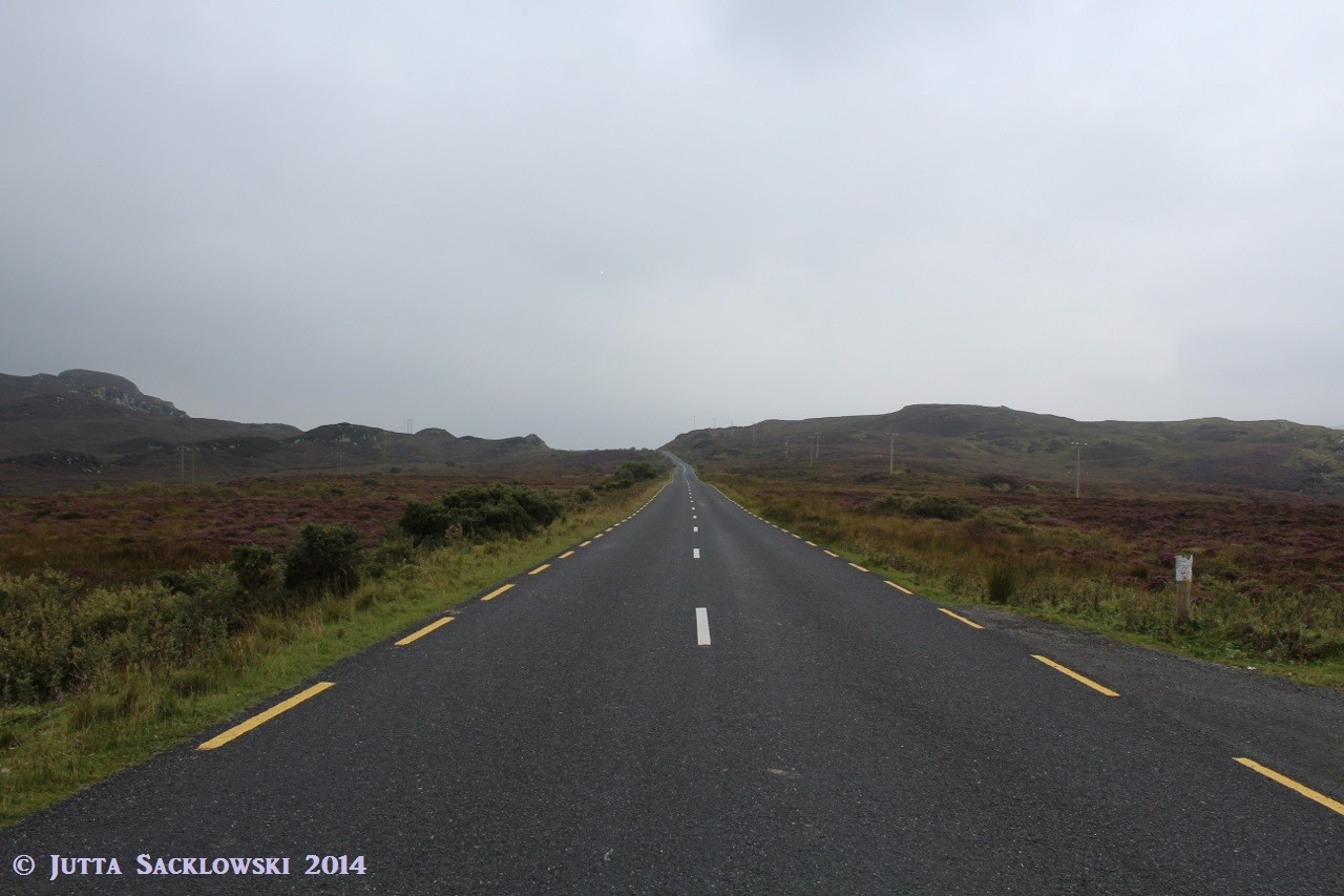 Typische Landschaft im Norden Irlands