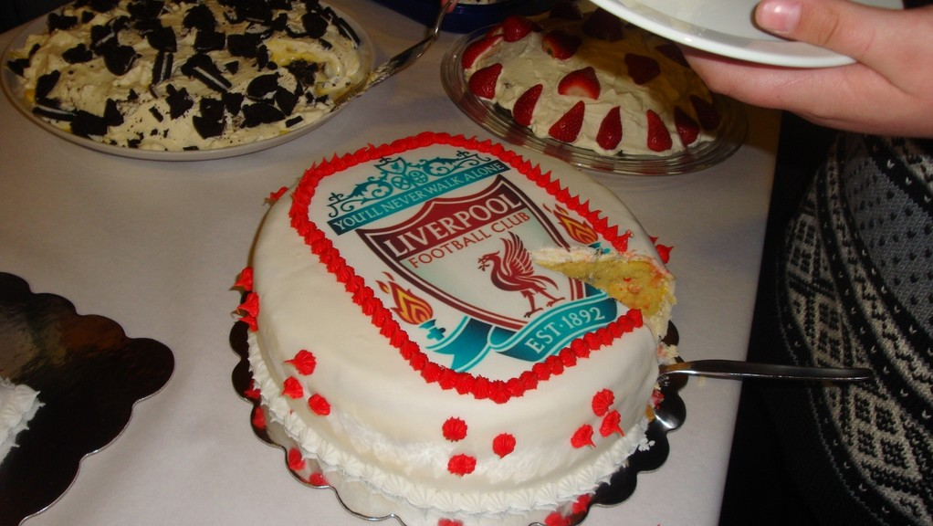 Liverpool-Fan-Kuchen