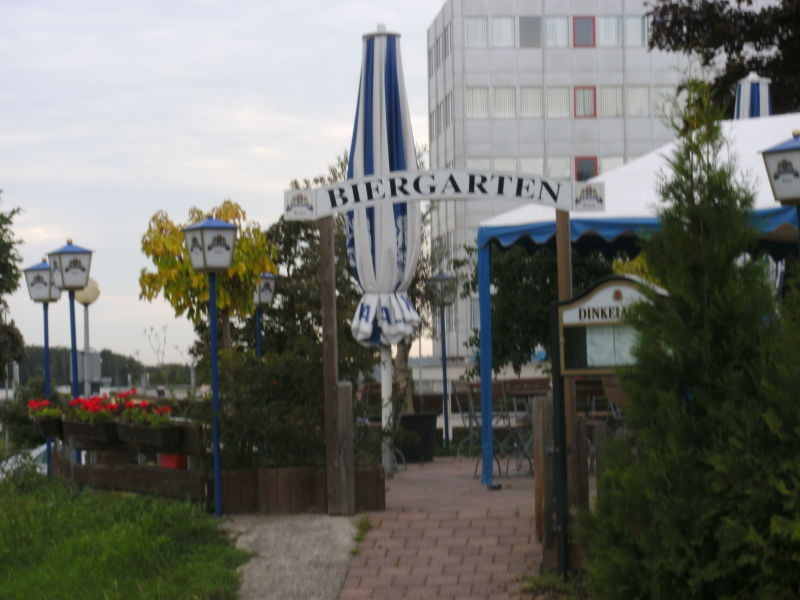 Biergarten des Sportheims