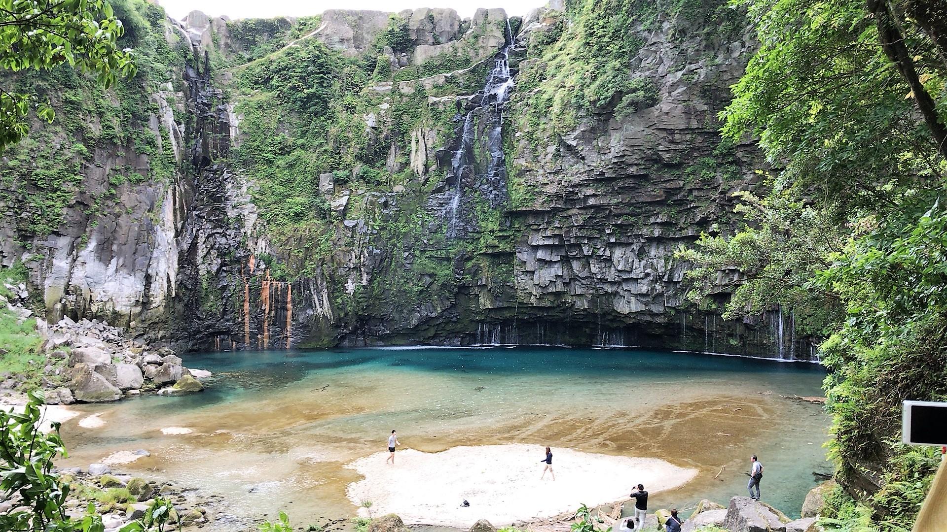 雄川の滝(南大隅町)