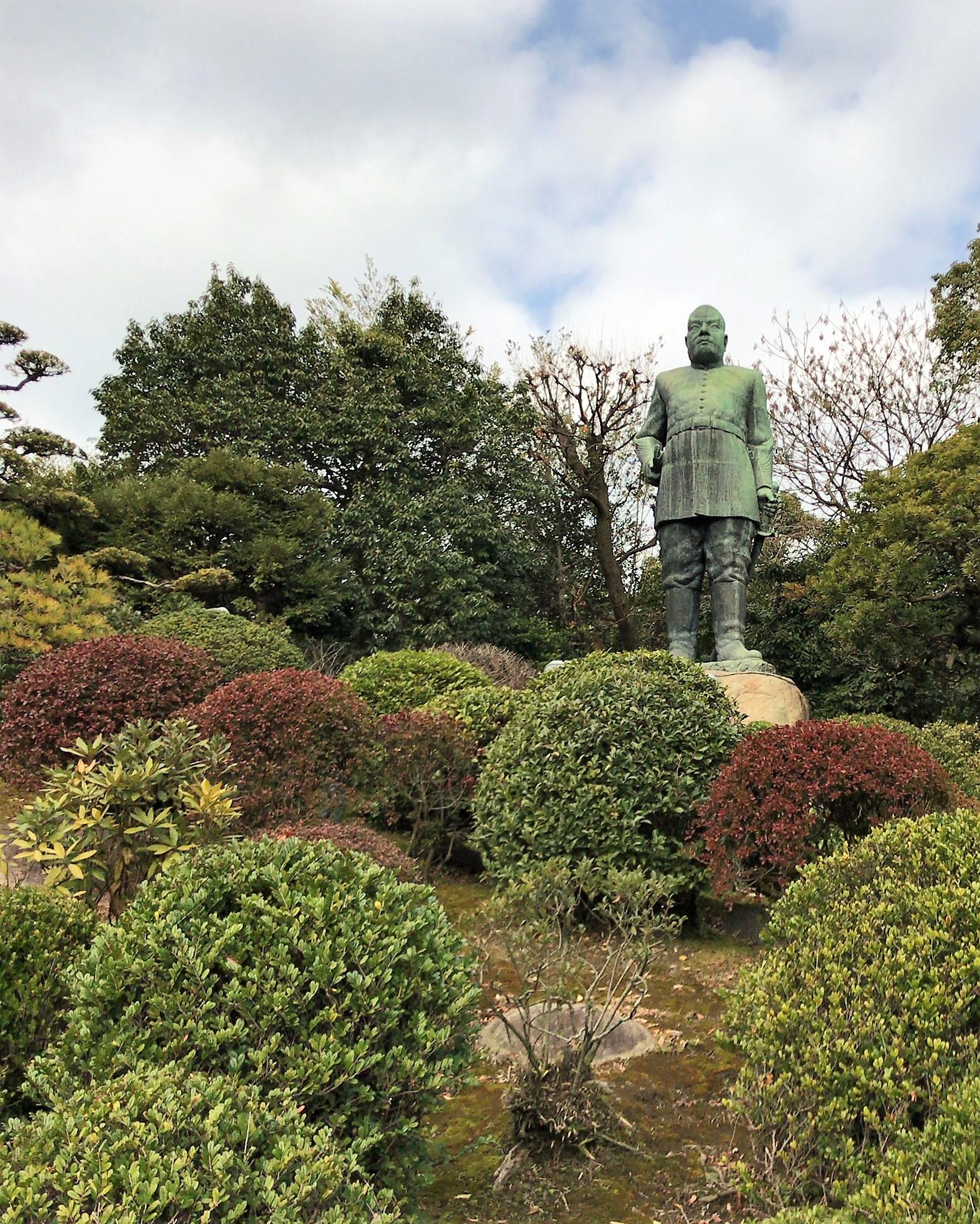 西郷隆盛像(鹿児島市)