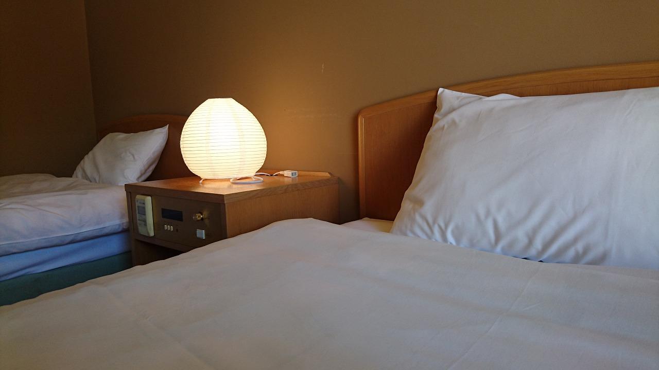 ホテルおとぎ 洋室ツインタイプ1