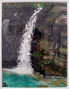 「白の滝」