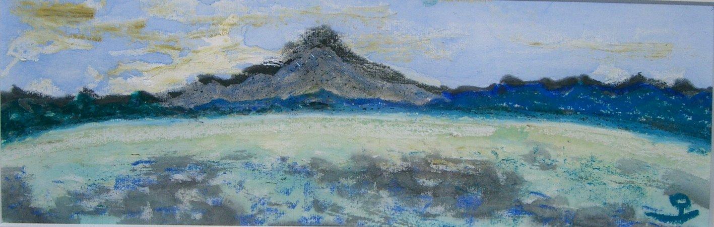 「宍道湖と大山」