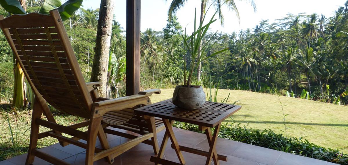 Bersila maison cocon, maison d'hôtes avec jardin à Bali