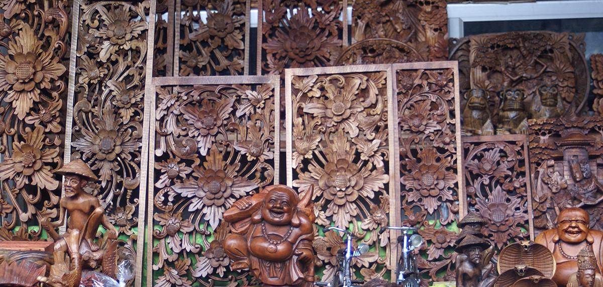 sculpture traditionnelle sur bois