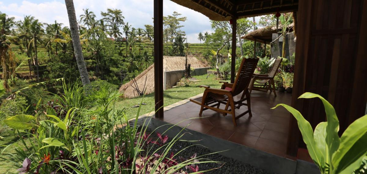 Maison d'hôtes à Bali, hébergement dans un cadre naturel