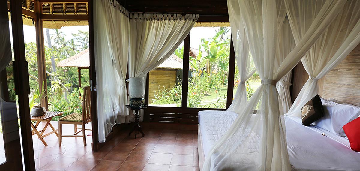 Maison d'hôtes à Bali, hébergement en chambres individuelles