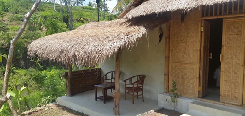 Bersila maison cocon en bambou