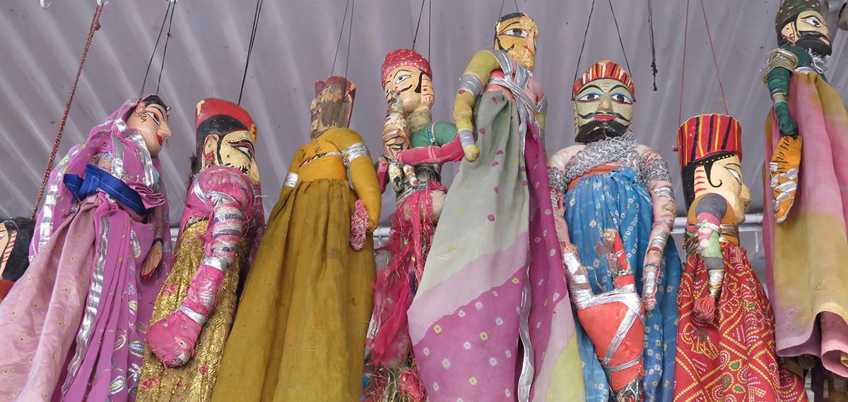 marionnettes traditionnelles balinaises