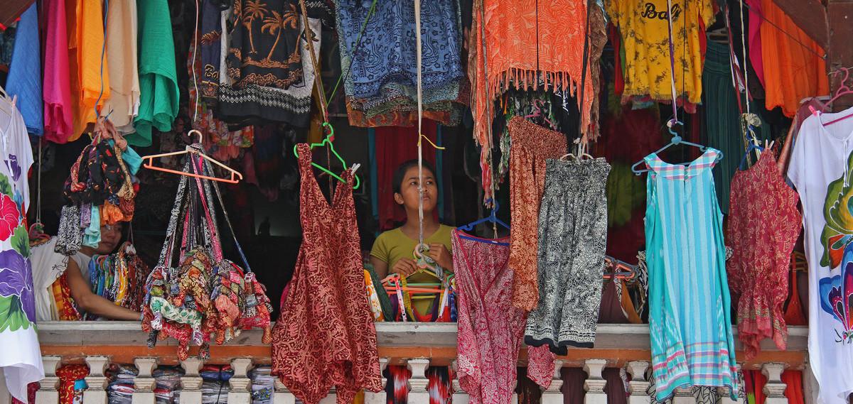 le marché à Ubud