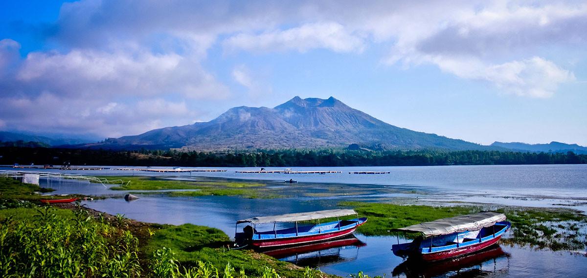 Kintamani le village du volcan et le lac Batur