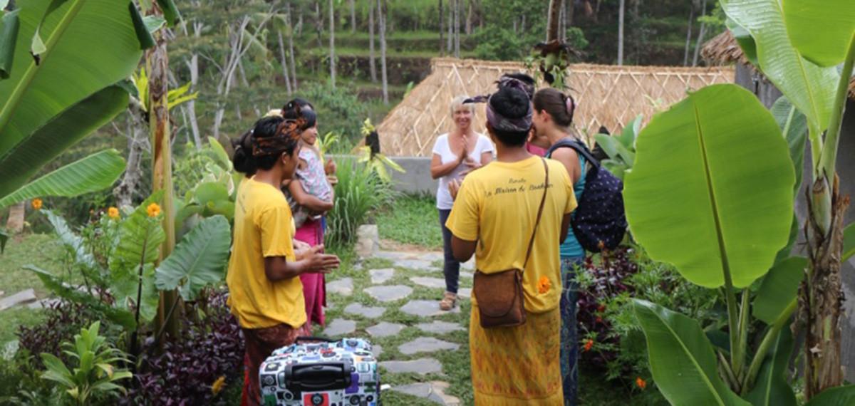 Maison d'hôtes à Bali, accueil et accompagnement dans un cadre naturel