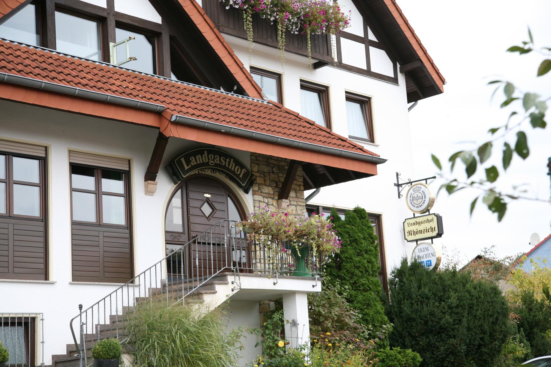 Hotel, Landgasthof, Restaurant in der Rhön