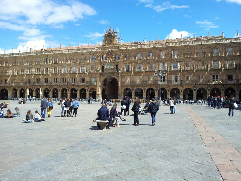 Plaza Mayor in Salamanca.