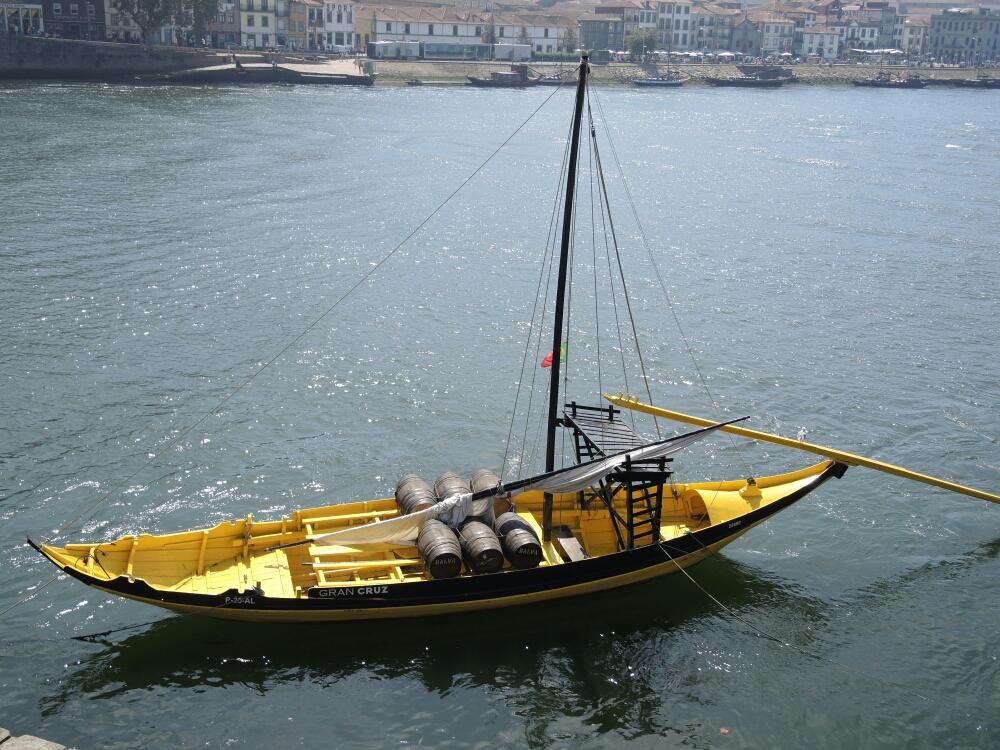 So wurde Portwein transportiert.
