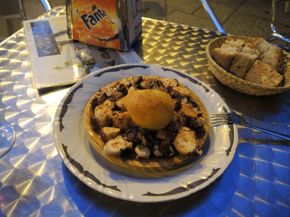 Auch die regionale Gastronomie ist in Ourense hervorragend