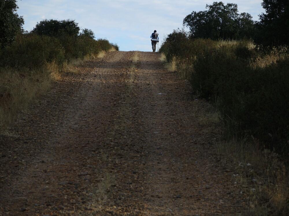 Ein Pilger auf der Via de la Plata