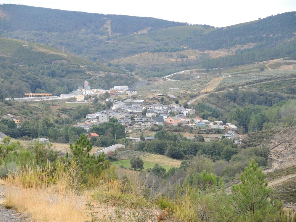 Campobeceros ein Bergdorf mit Keltischen Traditionen. Dort ist die Herberge