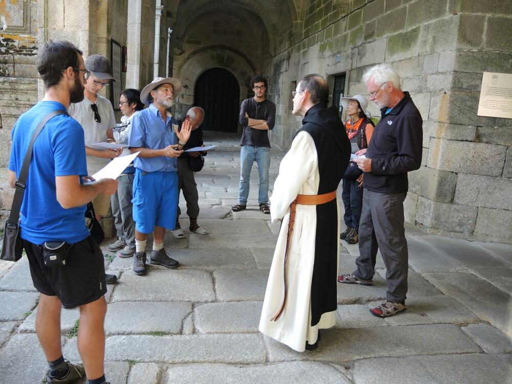 Da der Kloster voll in Betrieb ist, Besichtigung ist möglich nur mit fachkundigem Führung
