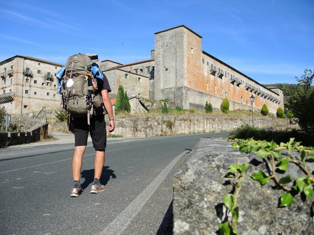 Zistersienserkloster in Oseira ist wirklich imposant und immer  noch in Betrieb