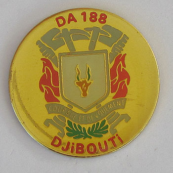 DJIBOUTI DA 188