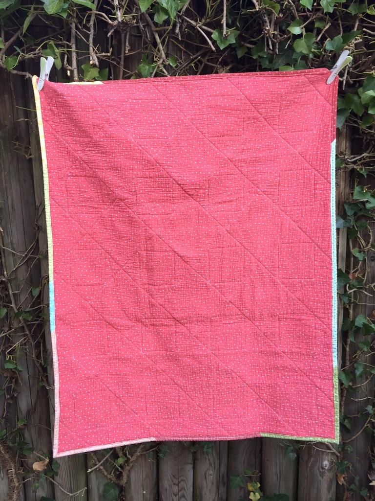 No. 12, Rückseite Double Gauze, Wattierung 80% Baumwolle/20%Polyester