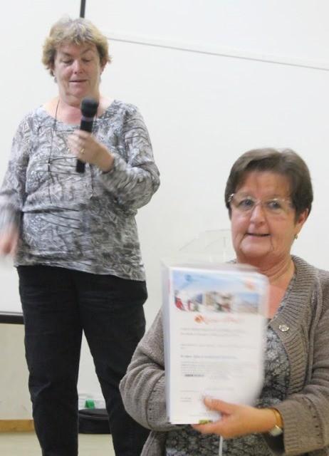 Marie-Claude Garcia, gagnante d'un week-end VVF