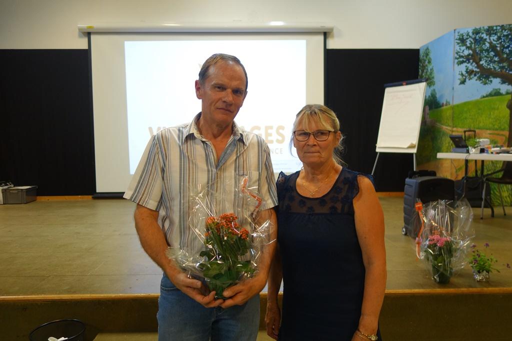 Christiane et Michel Fourmond,  Champion N2
