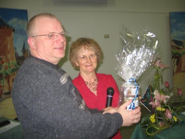 Roger Huard, vainqueur du challenge parties originales