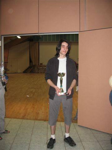 Samson Tessier -  Champion régional 2011