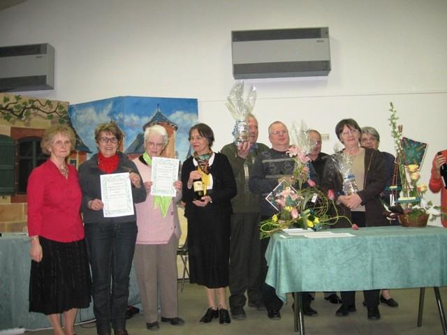 Parmi les lauréats, Anne Kervian et Solange Philippeau, gagnantes des forfaits scrabble