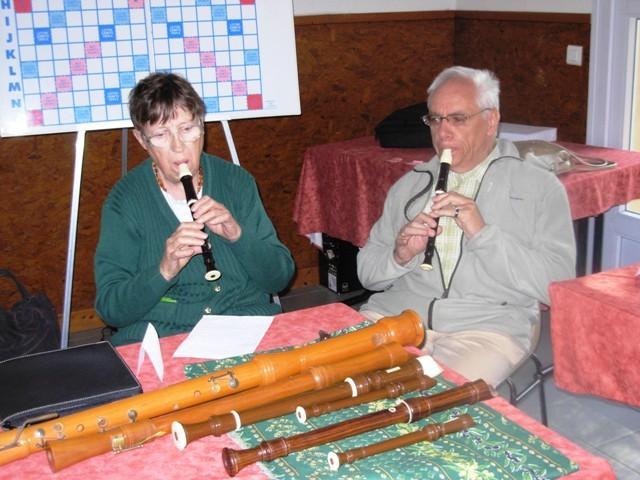 Simultané de flûte au pays de l'accordéon