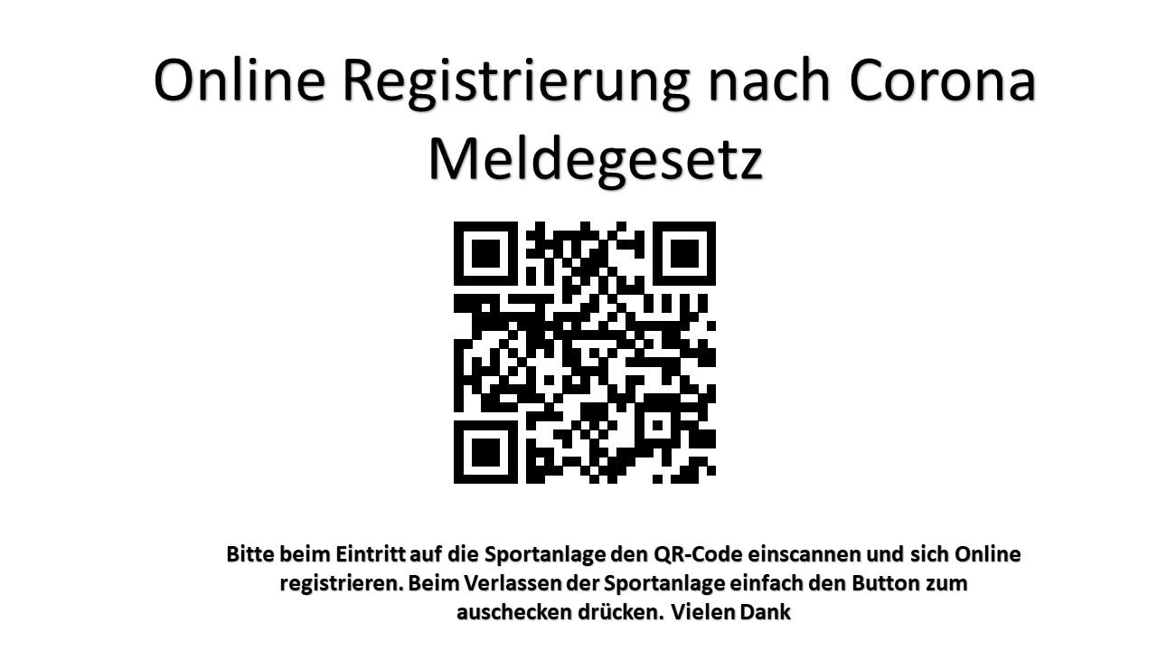 Online-Registierung zwecks Corona-Meldepflicht beim CfB