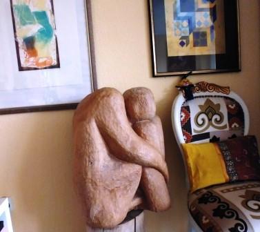 Skulptur und Malerei - beides ist für Emilias Weg bestimmend.