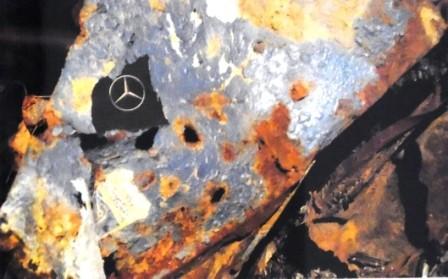 Ein Torso mit Wiedererkennungswert mitten in einem Meer anderer Bruchstücke. Eine von Rassmanns Arbeiten für die Jahresausstellung 2013.