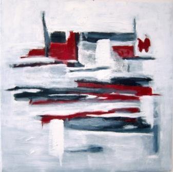 Freie Malerei ist die bevorzugte Ausdrucksform von Roos Cherek.
