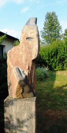 Die nächste Stein-Gestalt.