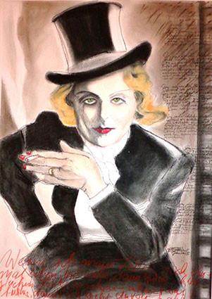 Marlene, der Vamp in Männerkleidung: die Diva war in vielen Rollen zu sehen.
