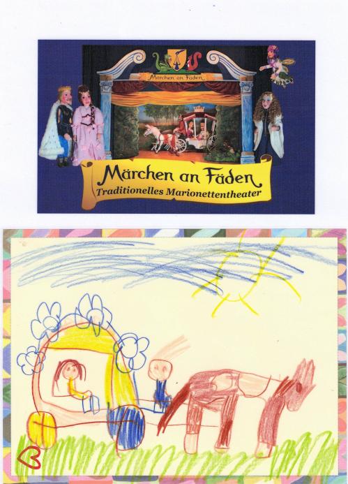 "Märchen an Fäden"" (Loreen, ca. 6 Jahre, KG Helmahof, NÖ)"