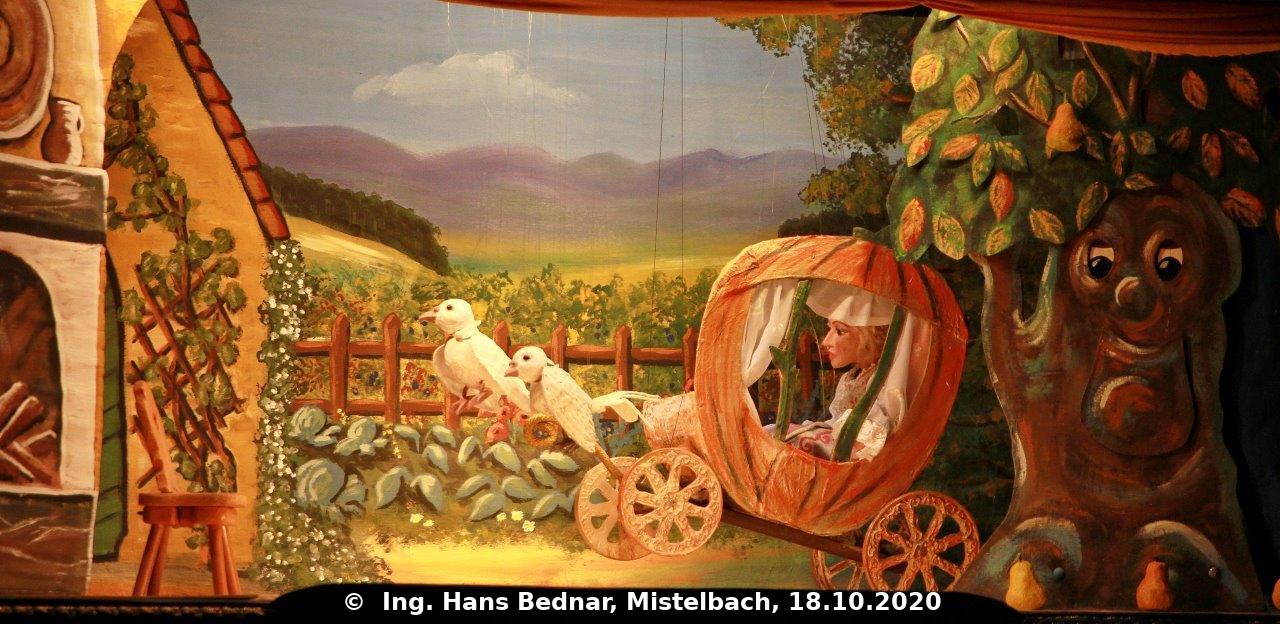 Abflug in Kürbiskutsche. (C) Ing. Hans Bednar, Mistelbach, 18.10.2020