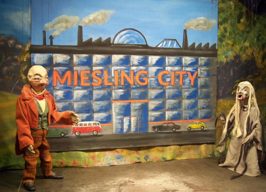 Miesling will für eine neue Miesling-City den Wald abholzen.