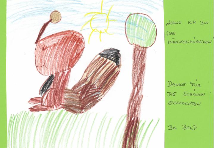 """Das Märchenhörnchen"" (Loreen, ca. 6 Jahre, KG Helmahof, NÖ)"