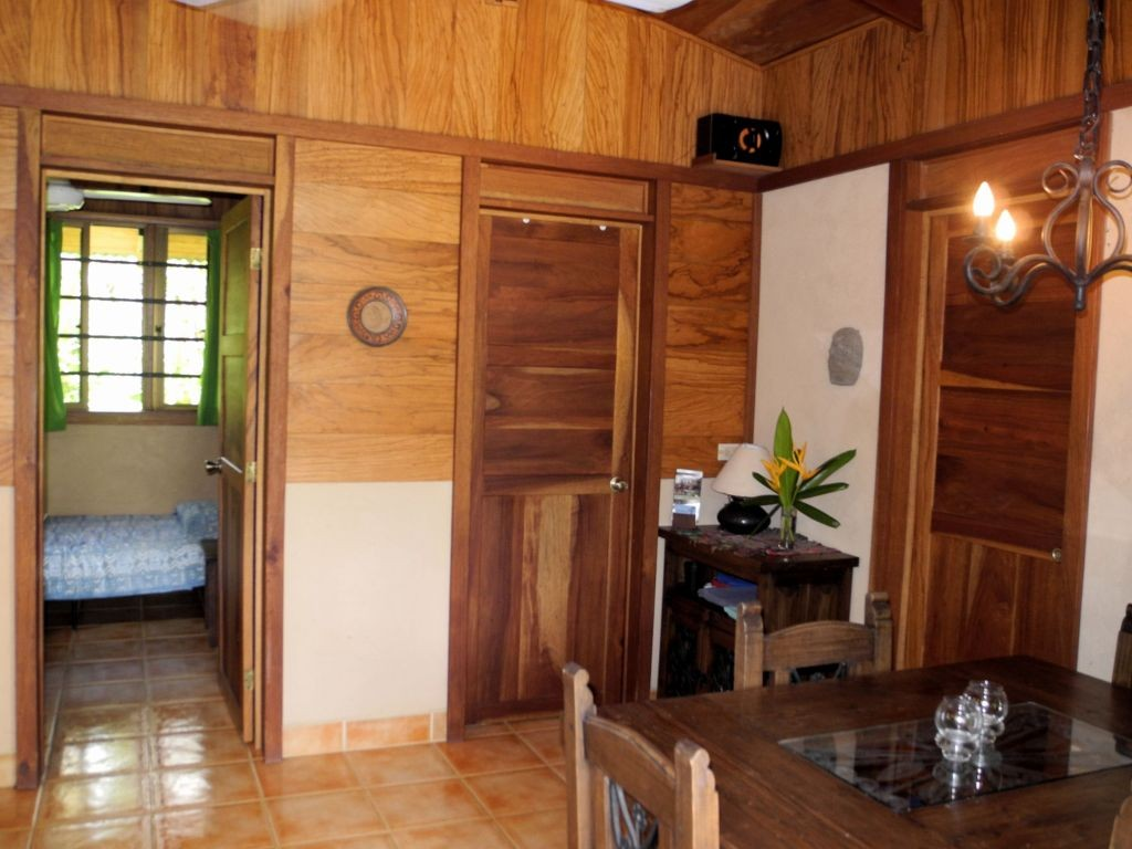 Interior casita Mapache