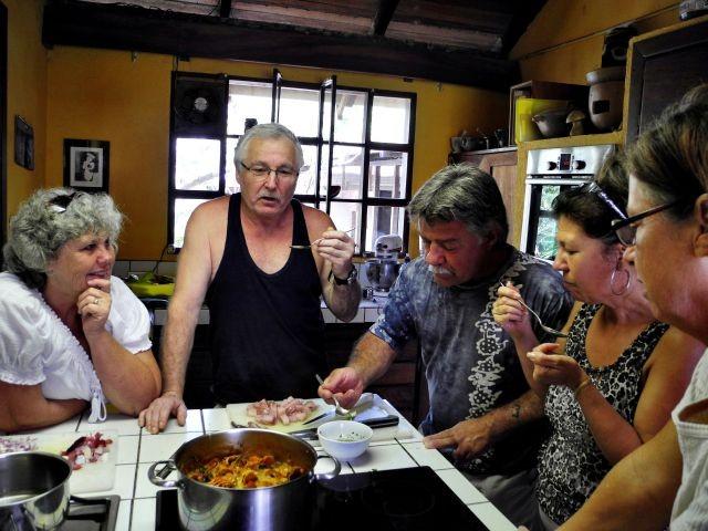 Cooking class:  tasting Hollandaise sauce