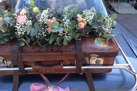 Brautstrauß Blumenzauber in Alt-Schleißheim  München