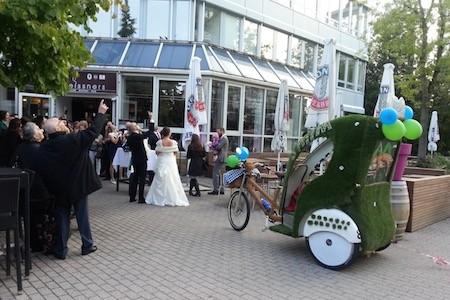 Hochzeitsauto Lederhosen-Express München